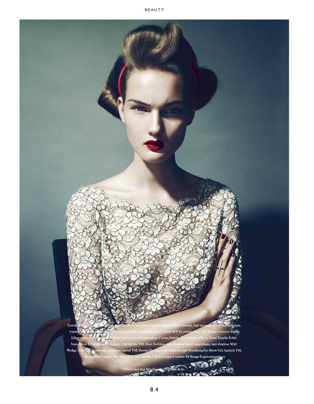 Вышли новые съемки из Bon, Flair, Vogue и других журналов. Изображение № 1.