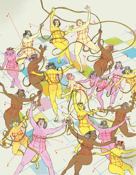 Рисунки американского иллюстратора Марко Шина.. Изображение № 16.