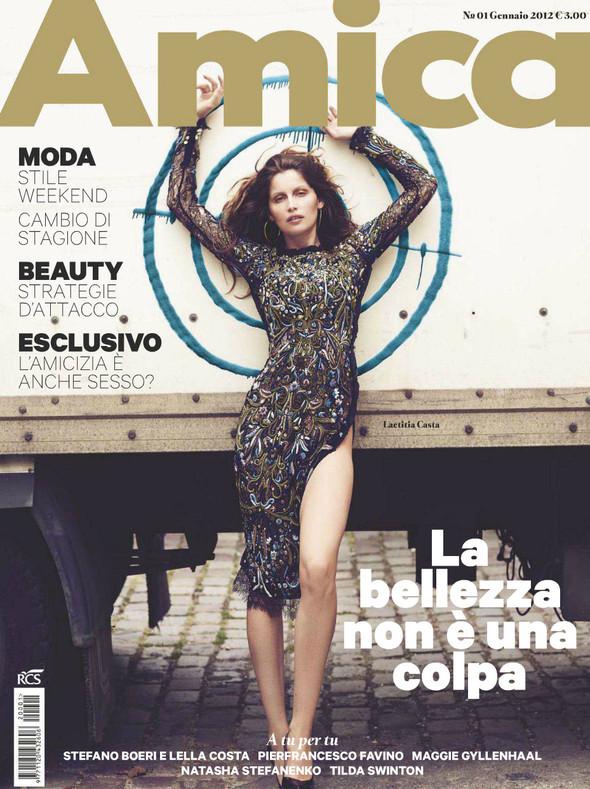Обложки: Amica, Harper's Bazaar и Surface. Изображение № 1.