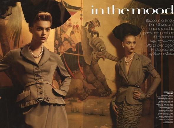 InThe Mood. Vogue US September 2009. Изображение № 3.