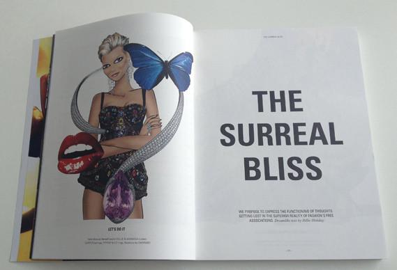 Журнал о моде Herself: только иллюстрации и никаких фотографий. Изображение № 6.