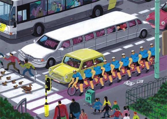 Босх 2.0: Иллюстрации-комиксы Брехта Ванденбрука. Изображение № 14.