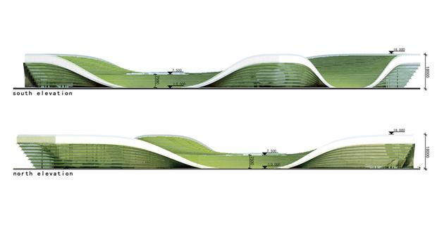 Архитектура дня: объединённые водно целое 4павильона. Изображение № 8.