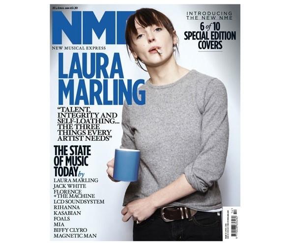 Новый дизайн и десять обложек NME. Изображение № 8.