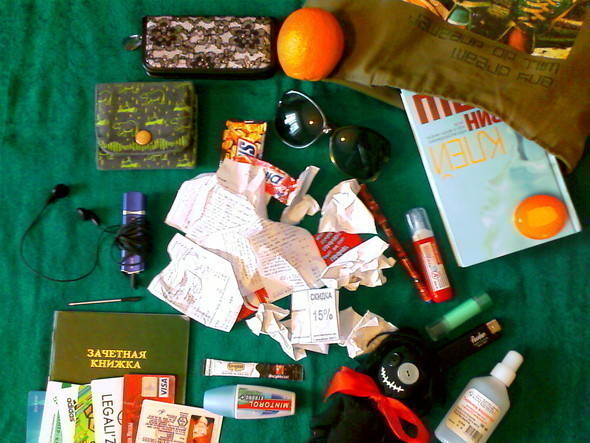Look at Me: What's in your bag? Часть 2. Изображение № 2.