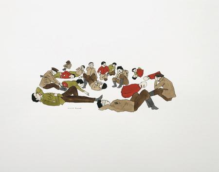 Канадский художник Marcel Dzama. Изображение № 6.