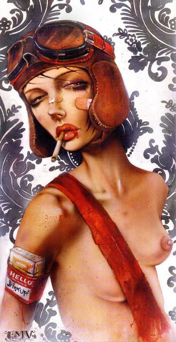 Brian M. Viveros - Американский художник. Изображение № 8.