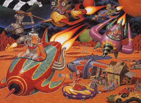 Эйсид-поп сюрреализм Тодда Шорра. Изображение № 30.
