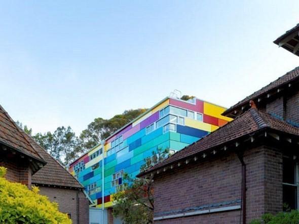 Изображение 3. Разноцветная школа от австралийских архитекторов.. Изображение № 3.