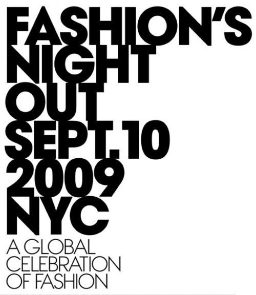 Fashion's Night Out– событие года отVogue!. Изображение № 1.