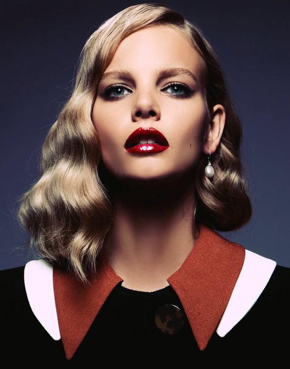 Съёмка: Марло Хорст для Vogue. Изображение № 2.