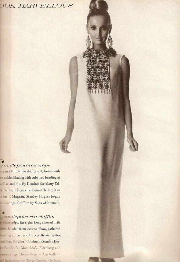 «Выгляди великолепно» каквVogue 1967 года. Изображение № 14.