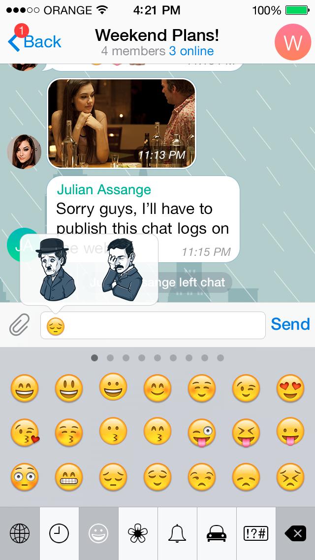 Павел Дуров открыл конкурс по созданию стикеров для Telegram. Изображение № 4.