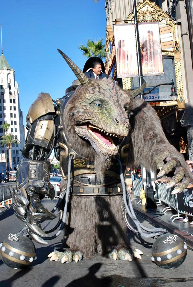 Stratasys рассказала о работе над монстром для Comic-Con . Изображение № 1.