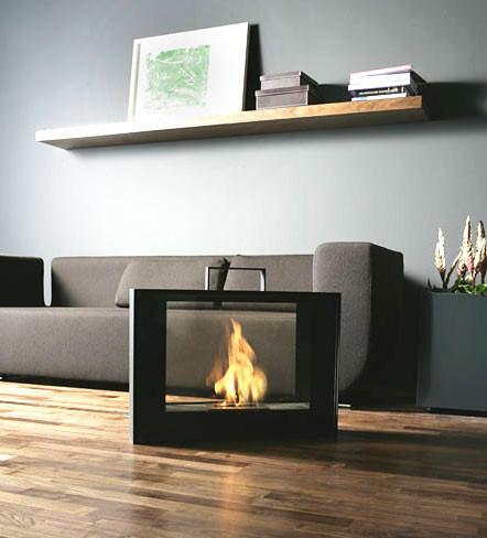 Настоящий огонь у вас дома. 12 вариантов каминов в жилых помещениях. Изображение № 4.