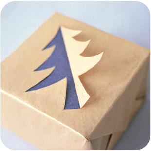 55 идей для упаковки новогодних подарков. Изображение № 118.