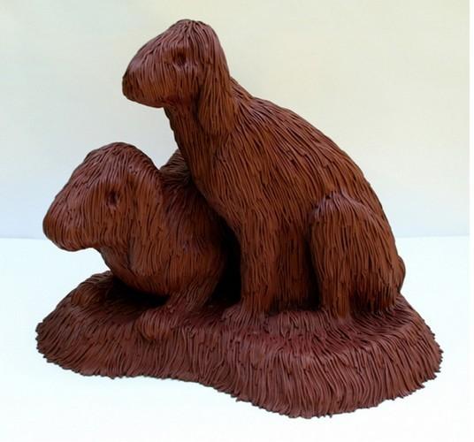 """""""Меховые"""" скульптуры из керамики, резины и бронзы. Изображение № 12."""