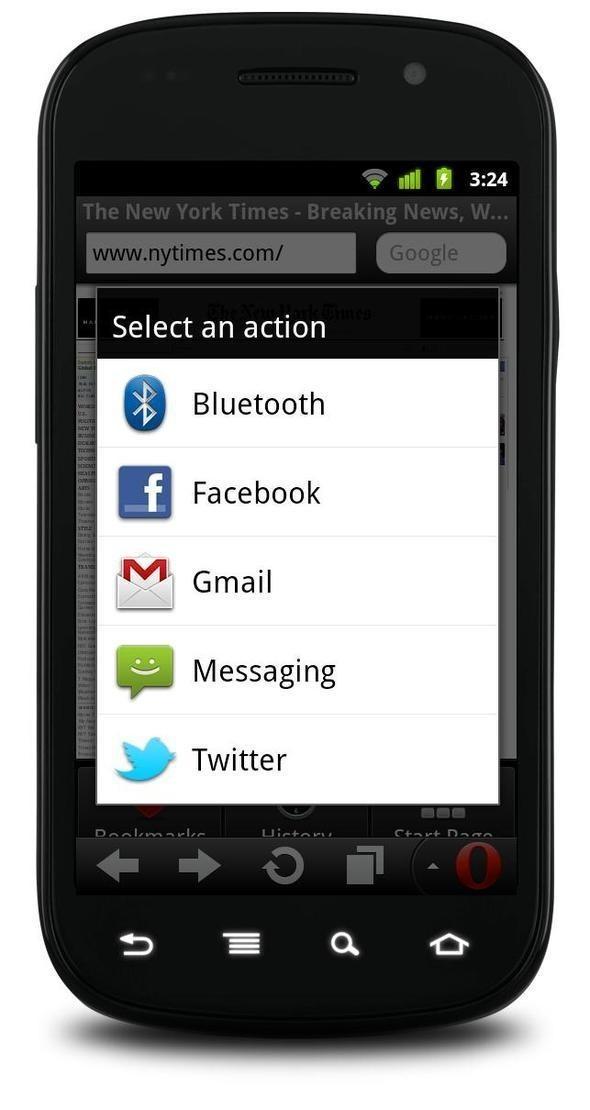 Изображение 3. Рок-Опера для мобильного Интернета. Дебют новых версий Opera Mini 6 и Opera Mobile 11.. Изображение № 2.