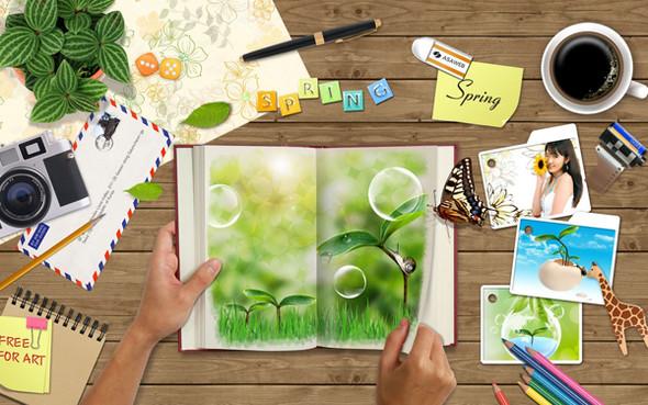 Весна идет! Создаем весеннее настроение. Изображение № 23.