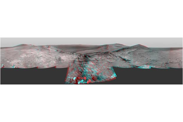 Совмещение снимков с двух камер Curiosity . Изображение № 5.