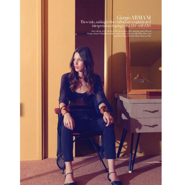 Изображение 18. Съемки: Harper's Bazaar, Metal, V и Vogue.. Изображение № 18.