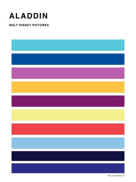 Дизайнер выбрал цвета из фильмов Миядзаки и Disney. Изображение № 11.