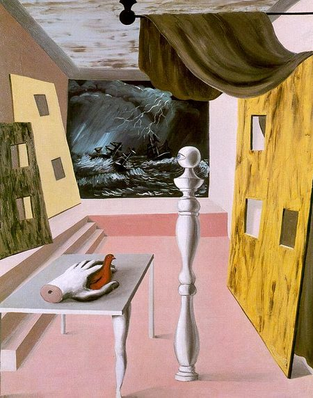 Рене Магритт-небо вего глазах. Изображение № 15.