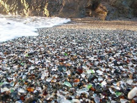 Стеклянный пляж в Калифорнии. Изображение № 4.