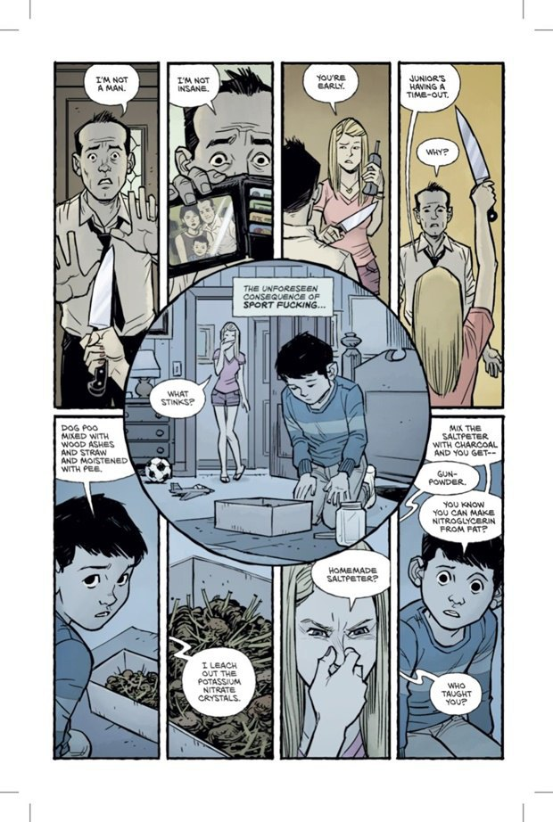 Выложены 6 страниц комикса-сиквела «Бойцовского клуба». Изображение № 4.