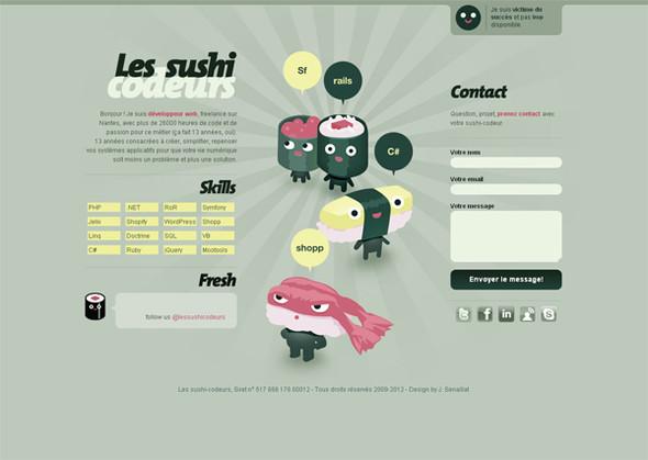 Персонажи в дизайне сайтов. Изображение № 41.