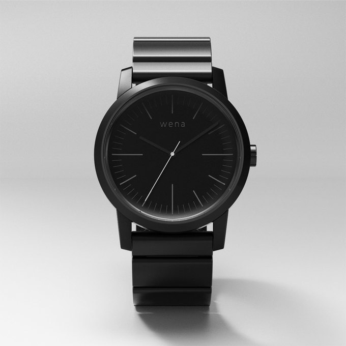 Sony начала сбор средств на выпуск смарт-часов Wena . Изображение № 4.