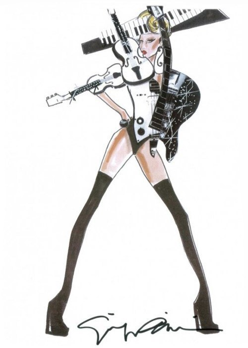 В чем дизайнеры  выпускают поп-звезд  на сцену. Изображение № 18.