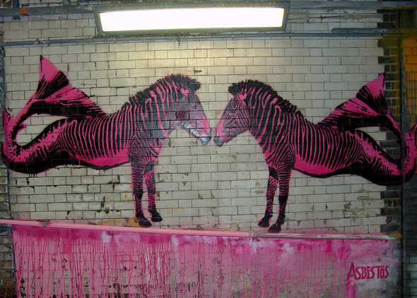 Стрит-арт в Лондоне. Изображение № 12.
