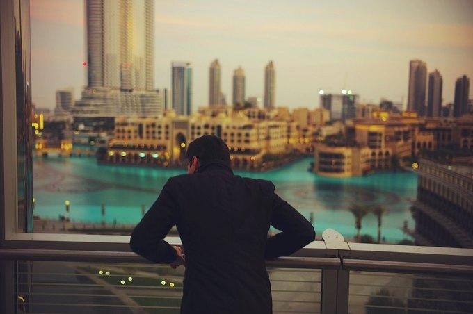 Павел Дуров в Дубае. Фотография из личного архива. Изображение № 1.