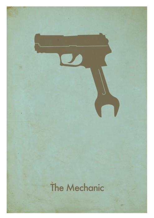 Заряженные афиши - 20 кинопостеров с пистолетами. Изображение № 14.