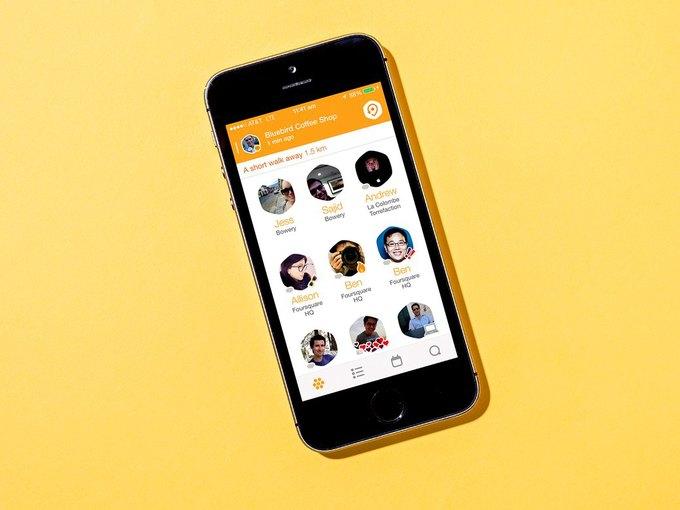 Разработчики Foursquare выпустили новое приложение для чекинов . Изображение № 1.