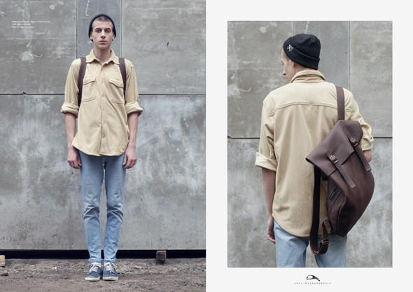 Изображение 1. Лукбук: рюкзаки Asya Malbershtein SS 2011.. Изображение № 1.