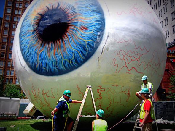 З - х этажный «Глаз» посреди Прицкер-Парка в Чикаго. Изображение № 1.