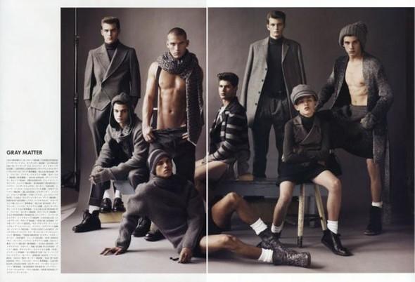 'Life Without Rules' Vogue Hommes Japan # 3. Изображение № 3.