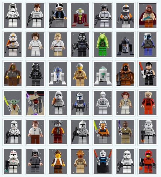 День Звездных Войн. Всеперсонажи Звездных войн отLego. Изображение № 4.