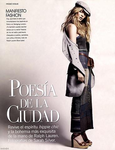 Vogue Mexico, март 2011, фотограф Сара Сильвер. Изображение № 56.