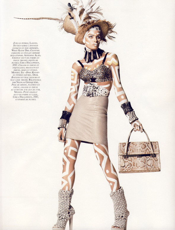 Isabeli Fontana for Vogue Paris. Изображение № 6.
