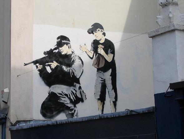 Изображение 43. Banksy (уличная мышь – герой).. Изображение № 43.