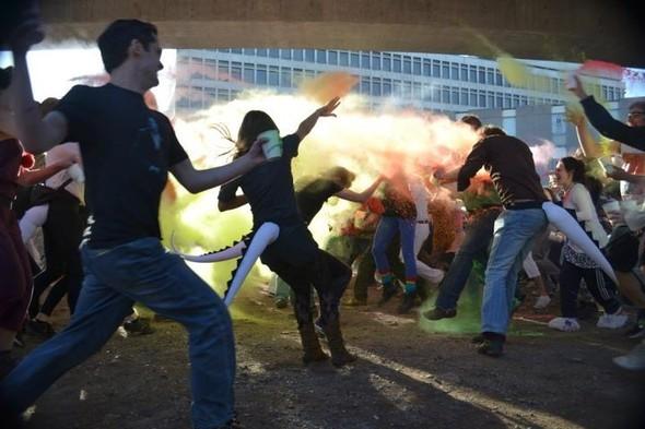 Красочные бои/ Paint Fight/London. Изображение № 3.