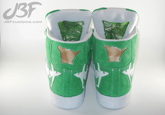 Nike Blazer Mid Jet Life II кастом от JBF. Изображение № 8.