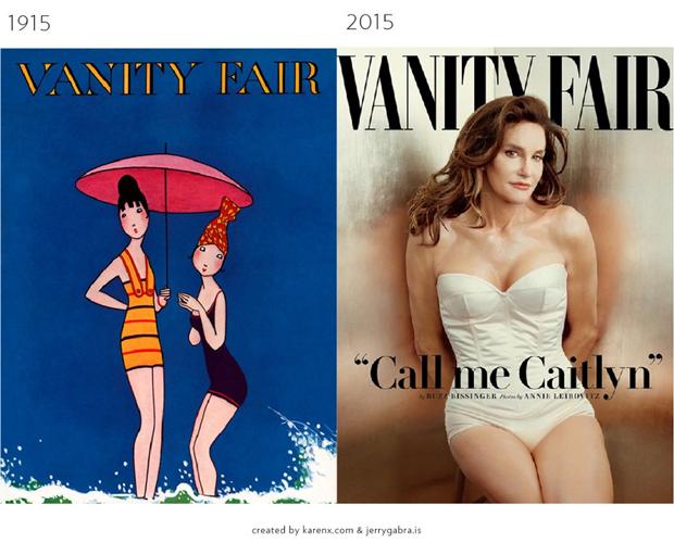 Обложки журналов1900–1950-х сравнили ссовременными. Изображение № 15.