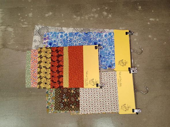 Образцы тканей, подобранные по цветам, паттернам или видам. Изображение № 3.