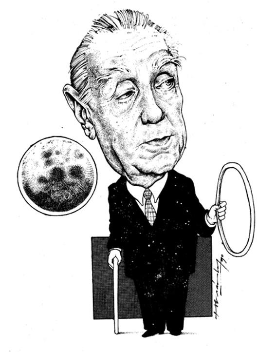 Карикатуры на писателей. Изображение № 63.