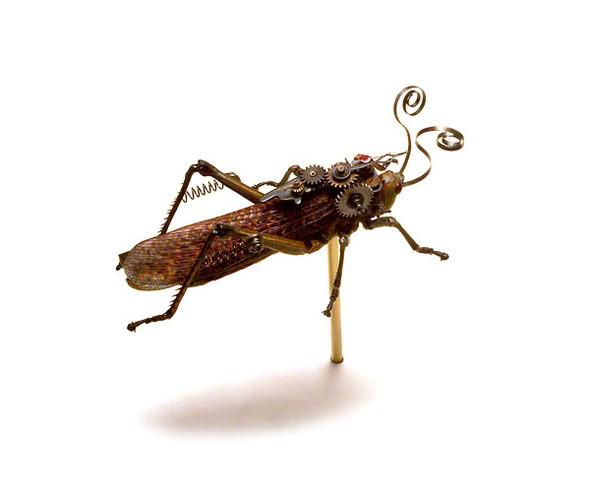 Стимпанк насекомые от Mike Libby. Изображение № 6.