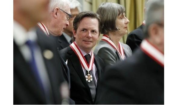 Актер получает одну из главных государственных наград Канады.. Изображение № 14.